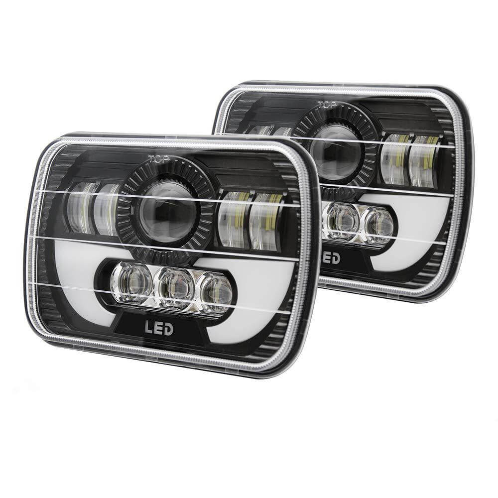 Rechteck GMC 5x7 Angel Eye LED-Scheinwerfer JG-T002N